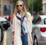 Итальянский стиль: шарф